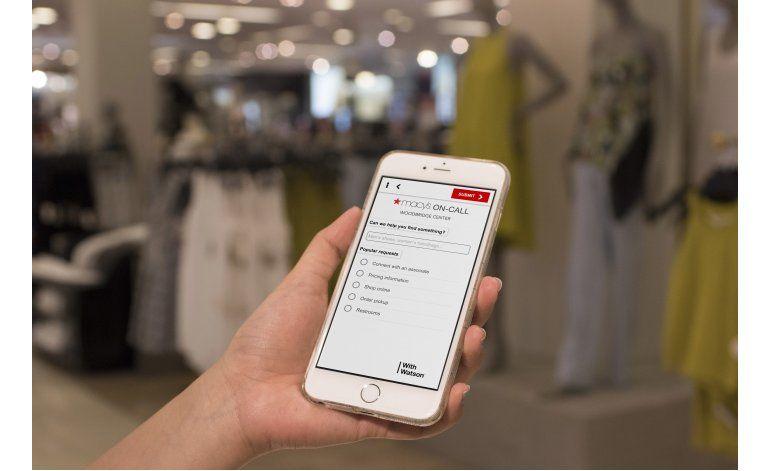 Macys prueba inteligencia artificial para ayudar a clientes