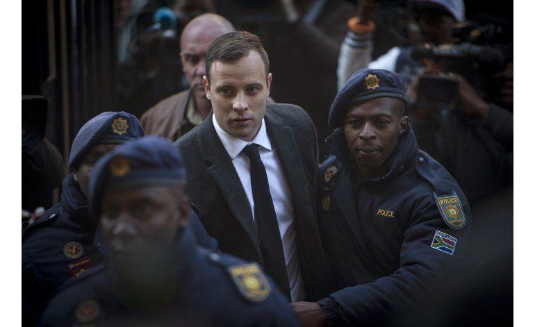 Fiscalía sudafricana apelará sentencia de Pistorius