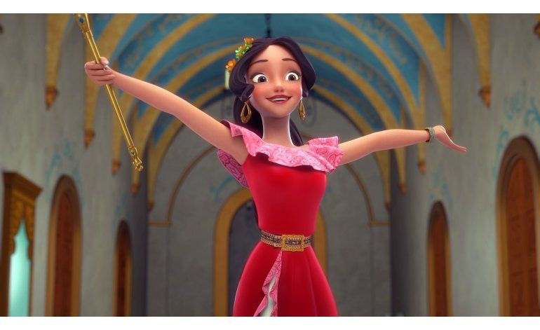 Elena, la primera princesa latina de Disney, debuta en la TV