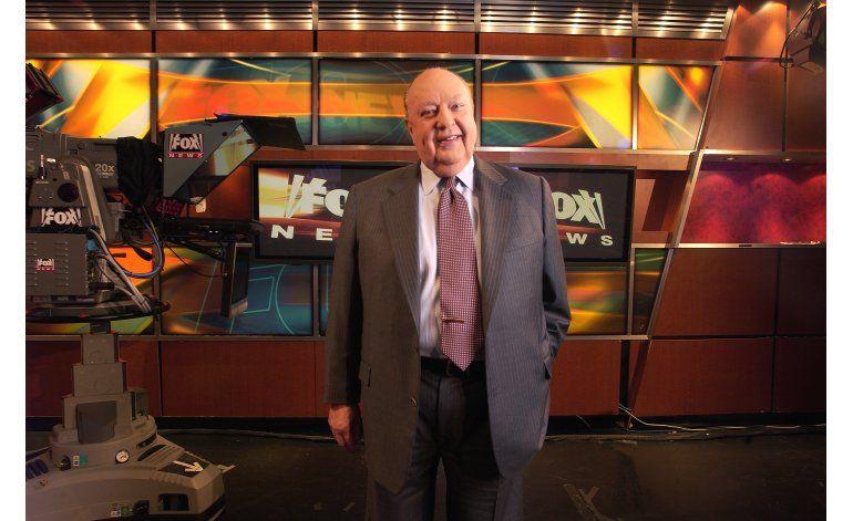 Roger Ailes deja dirección de Fox News y Fox Business