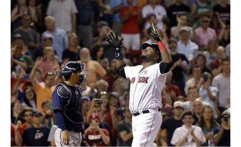 Ortiz suena jonrón en triunfo de Boston ante Mellizos