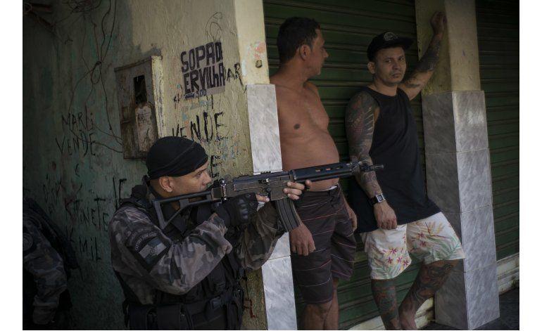 La campaña de seguridad de Río choca con alza de violencia