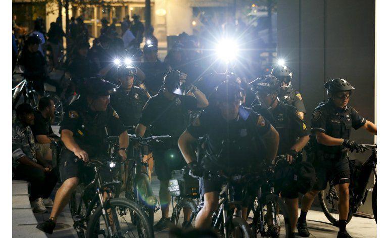 Convención republicana termina con pocos arrestos