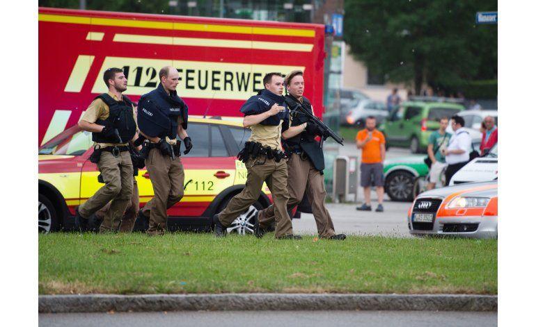 Disparos en centro comercial en Múnich