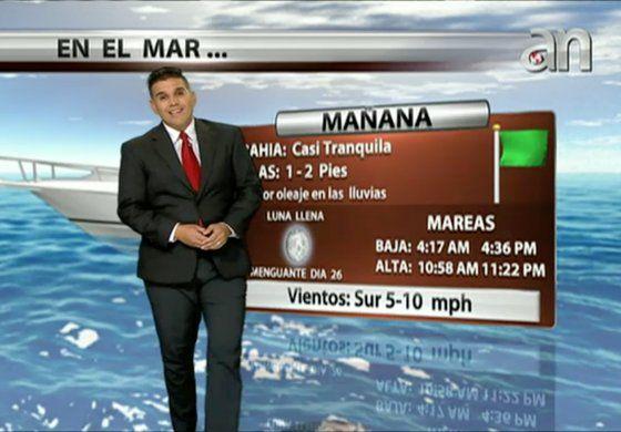 Pronóstico del tiempo para el fin de semana con Javier Serrano