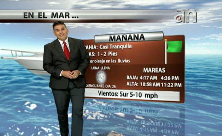 Pronóstico del tiempo con Javier Serrano