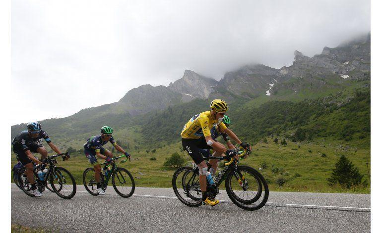 Froome mantiene ventaja y se enfila a su 3er título del Tour