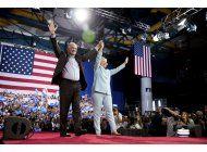 clinton y kaine debutan formula democrata en florida