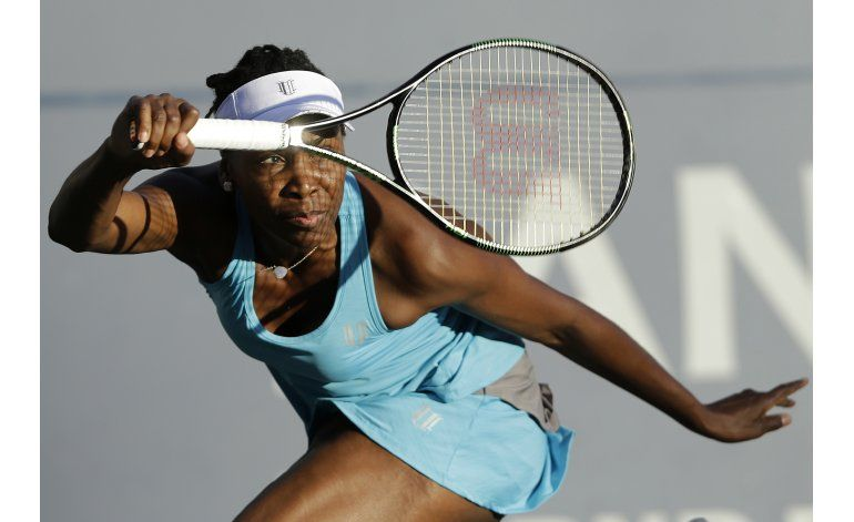 Venus Williams se cuela a la final en Stanford
