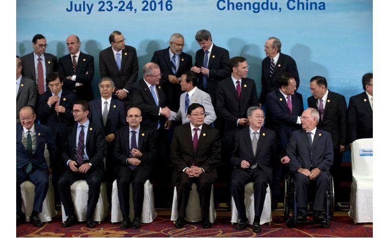 Países del G20 prometen impulsar el crecimiento