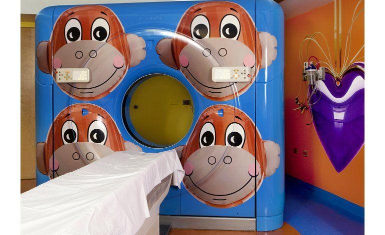 Con ayuda del arte, diseñan clínicas amables para los niños