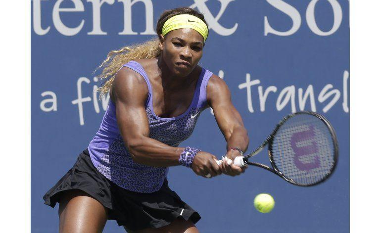 Serena Williams fuera de Montreal por inflamación de hombro