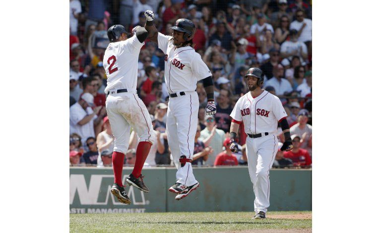 Porcello sigue invicto en Fenway, Boston vence a Mellizos