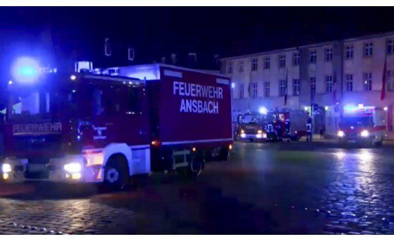 Policía: Se negó asilo a atacante de Ansbach