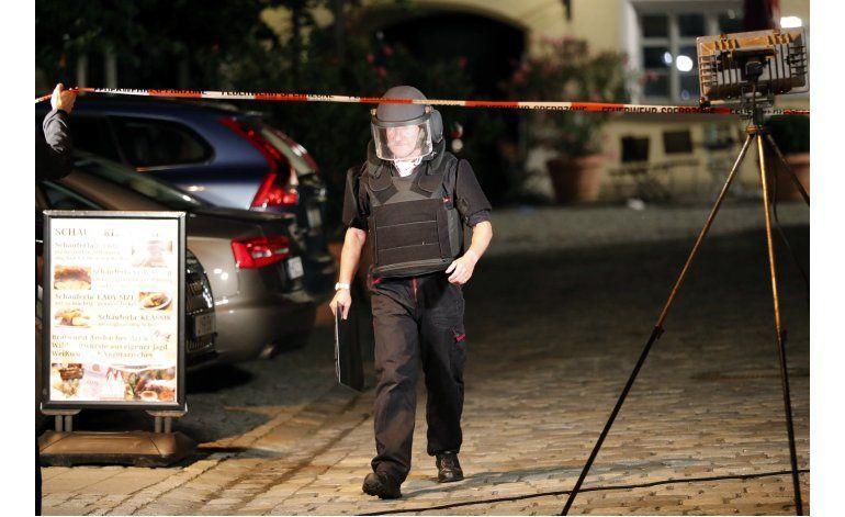 Funcionario alemán: Ataque Ansbach apunta a motivo islamista