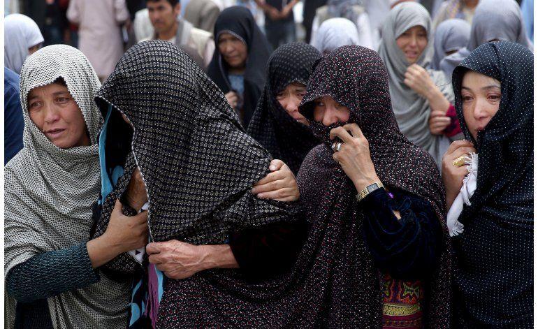 ONU: Suben los casos de niños muertos, heridos en Afganistán