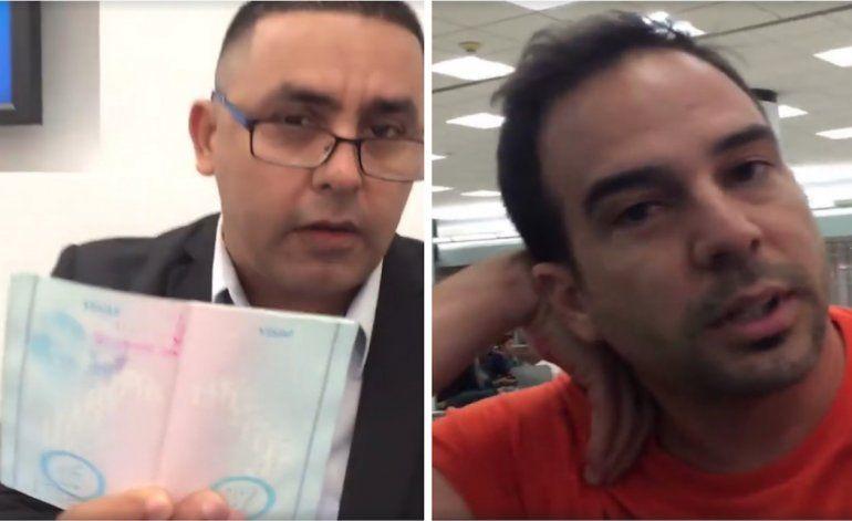 Niegan en Aeropuerto de Miami salir hacia Cuba a tía de  conocido presentador de Miami