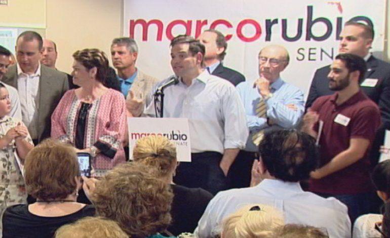 Marco Rubio regresa a West Miami y habla sobre Donald Trump