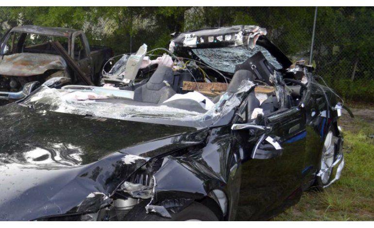 Coche autónomo accidentado iba a exceso de velocidad