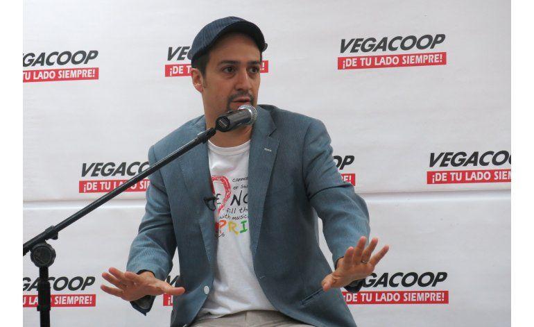 Lin-Manuel Miranda se compara con un Pokémon en Puerto Rico