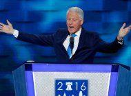 bill clinton dedico discurso a hillary lleno de anecdotas personales