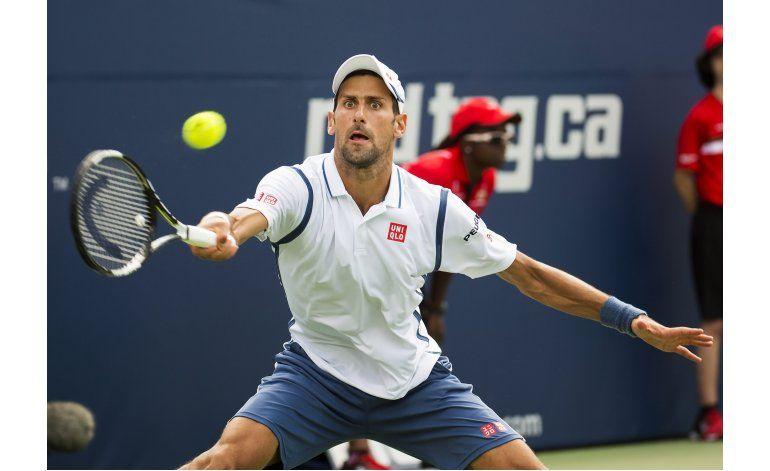 Djokovic sortea susto, vence a Muller al debutar en Toronto