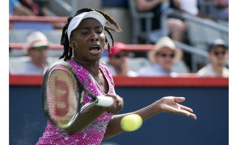 Cómoda victoria de Venus Williams en su debut en Montreal