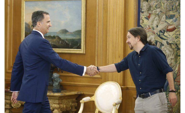 Líderes de partidos rechazan formar gobierno con Rajoy