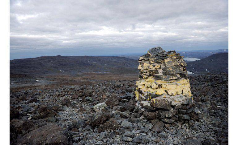 Noruega pondera regalar el pico de una montaña a Finlandia