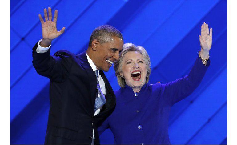 Clinton promete gobernar con mano firme en mundo peligroso