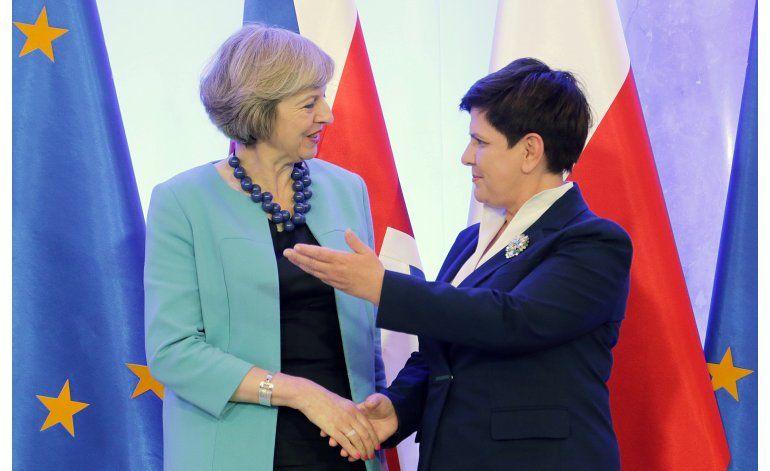 Gran Bretaña: Acuerdo con UE debe incluir control migratorio