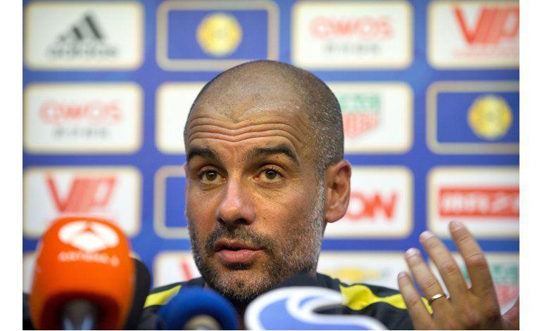 Guardiola: Nasri no juega por exceso de peso