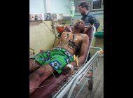 farinas al hospital en su octavo dia de huelga de hambre