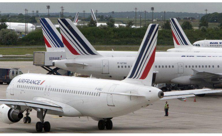 Suspenden vuelos de Air France a causa de huelga