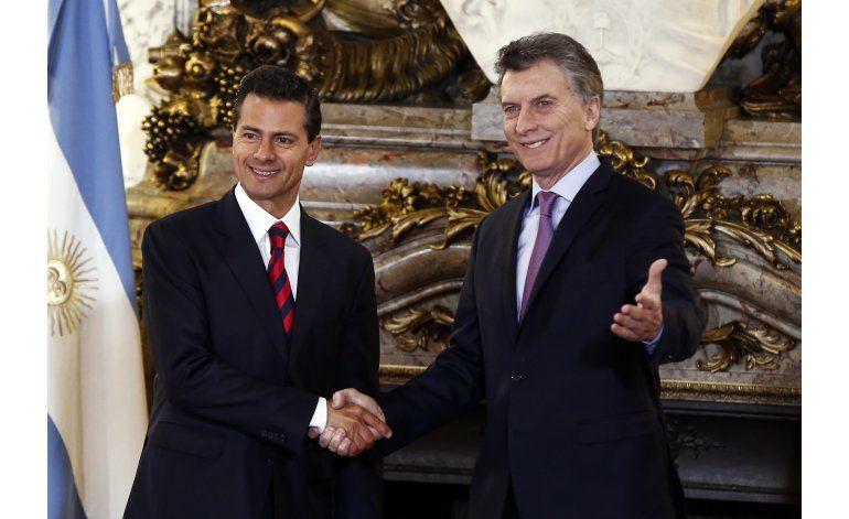 Argentina: Macri recibe a Peña Nieto en visita oficial