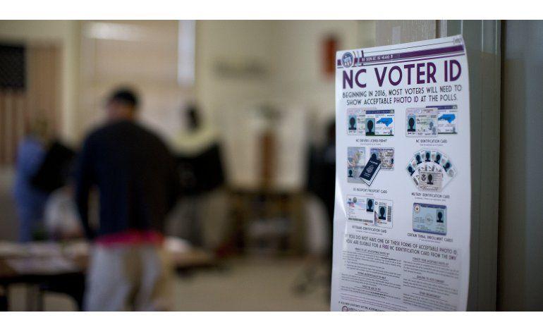 Bloquean ley electoral discriminatoria de North Carolina