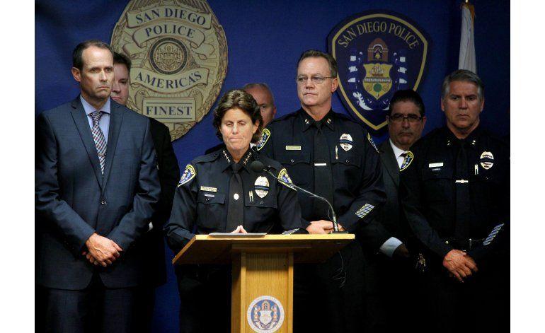 Muere un policía y otro queda herido en tiroteo en San Diego