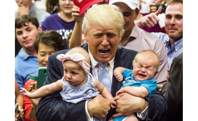 Trump ataca discurso de padre musulmán en la convención