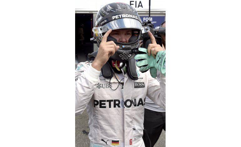 Nico Rosberg conquista la pole position del GP de Alemania