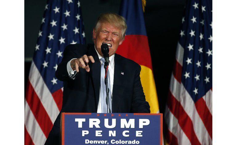 Trump y Clinton ofrecen visiones contrastantes del país