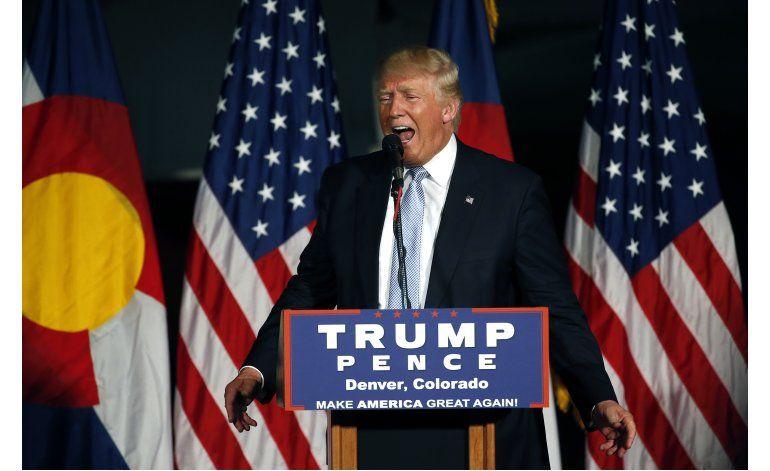 Rescatan a Donald Trump de un elevador en Colorado
