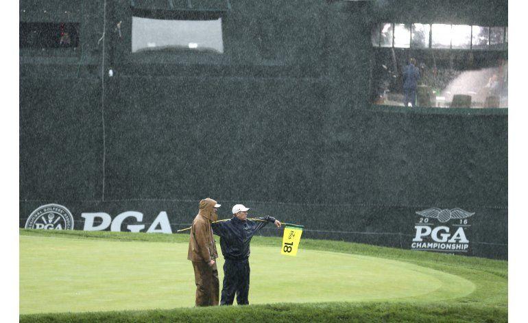 Tormentas obligan a posponer ronda del Campeonato de la PGA