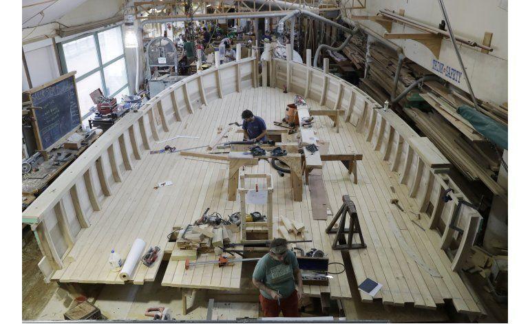 Crean réplica de buque revolucionario en Filadelfia