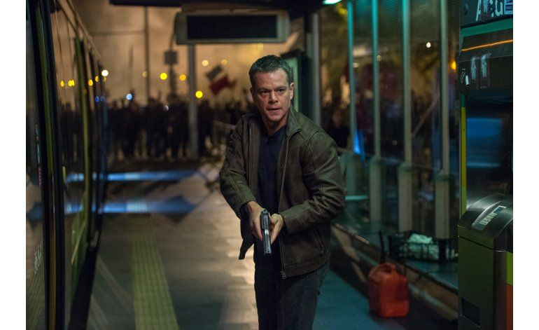 Damon sigue atrayendo a la audiencia como Jason Bourne