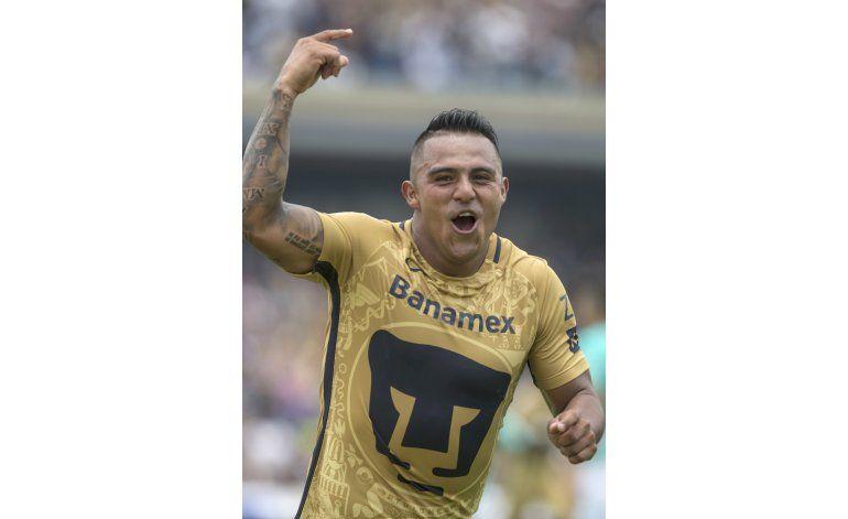 Cortés anota gol y da triunfo a Pumas sobre León