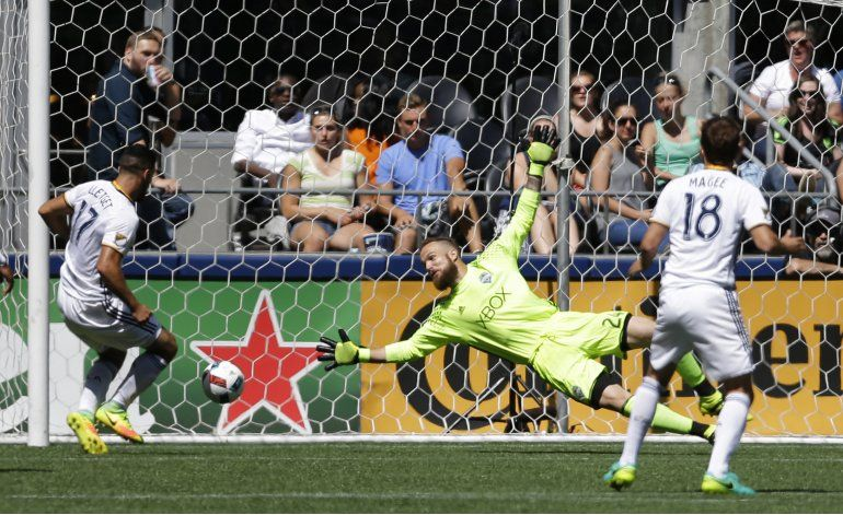 MLS: Galaxy saca empate 1-1 en visita a Seattle