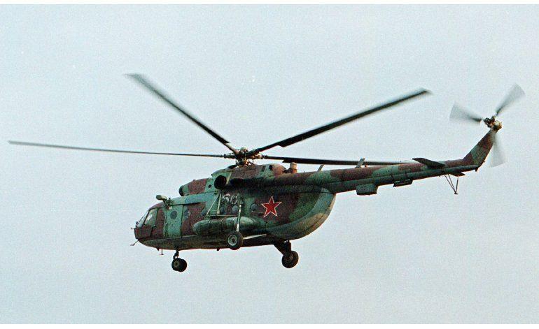 Derriban helicóptero ruso en Siria; cinco muertos