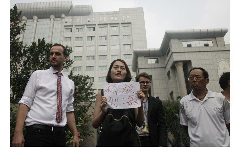 China: Comienza juicio contra activista