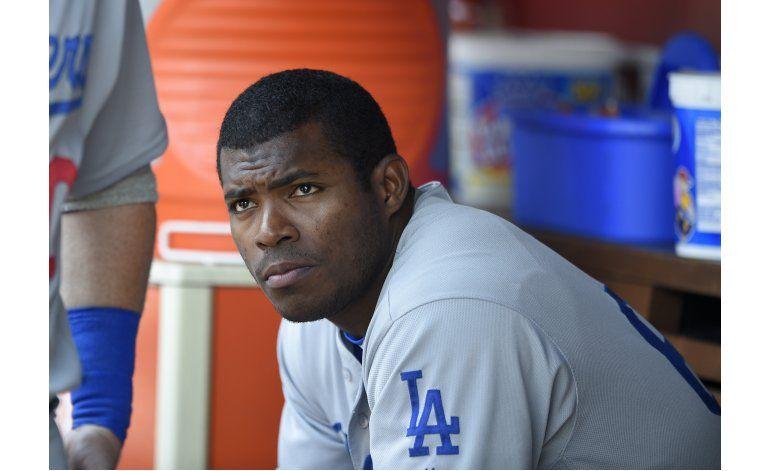 Dodgers envían a Yasiel Puig a las menores
