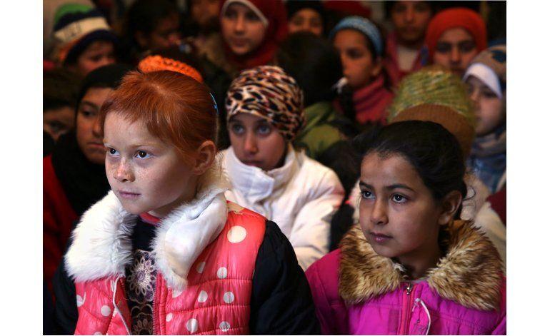 Un millón de sirios refugiados sigue sin escolarizar
